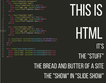 This is HTML